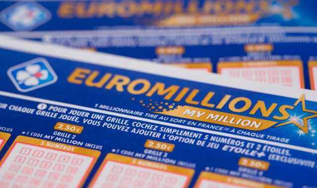 Odds of winning euromillions