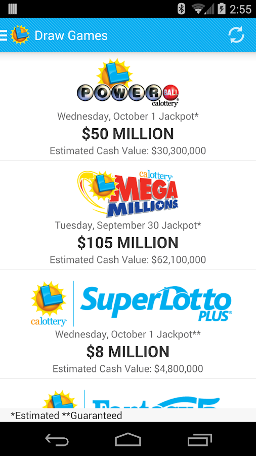 California superlotto numbers | results for the california superlotto draw