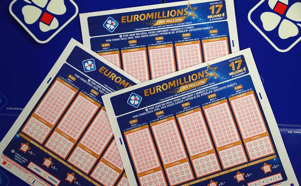 Призы лотереи евромиллионы