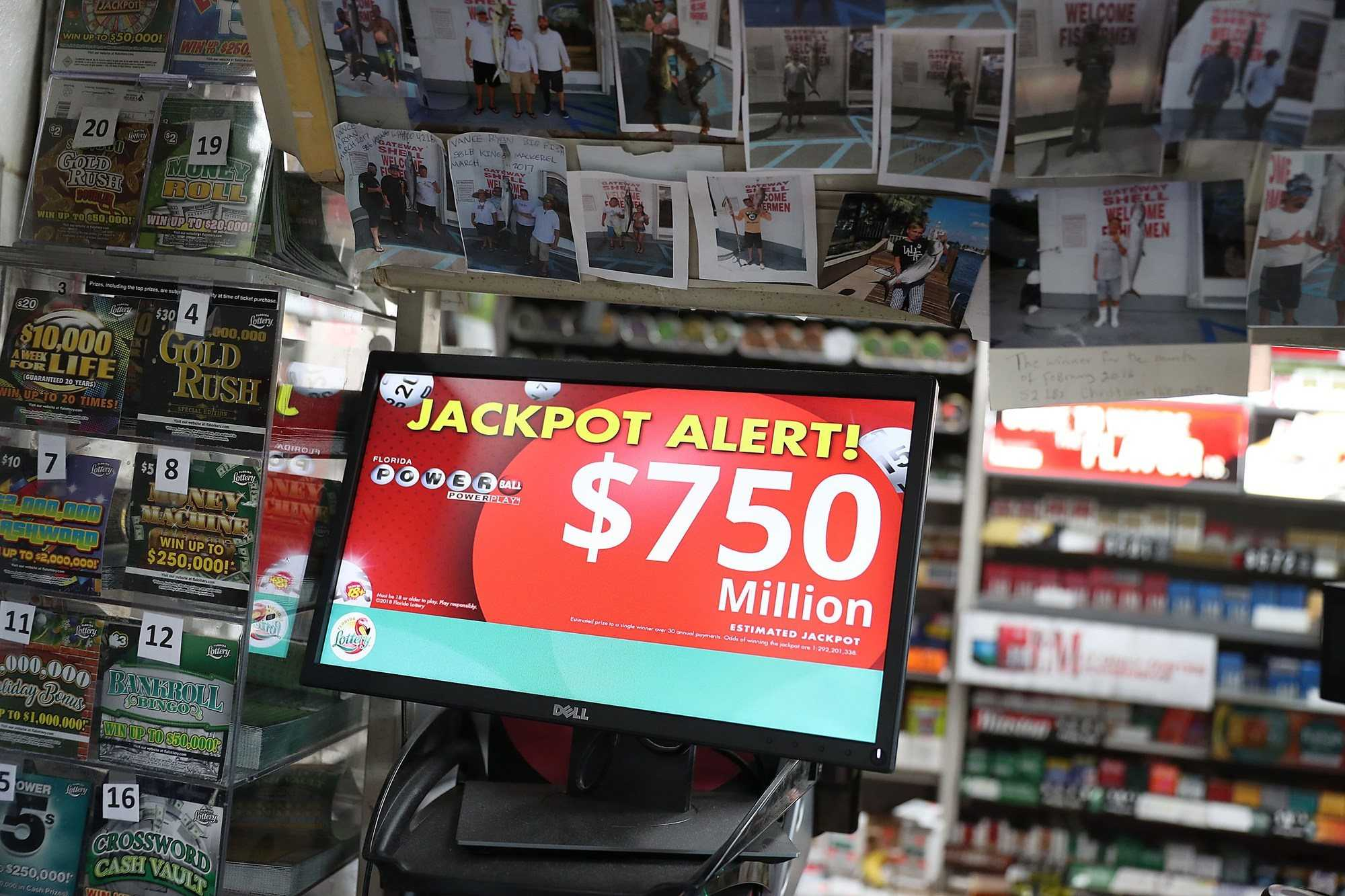Winning $90million powerball ticket was sold at a colorado convenience store
