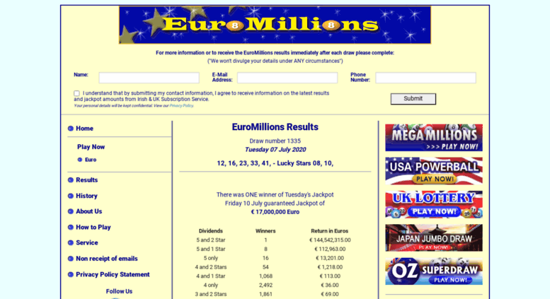 Can i play euromillions and claim prizes in another country?