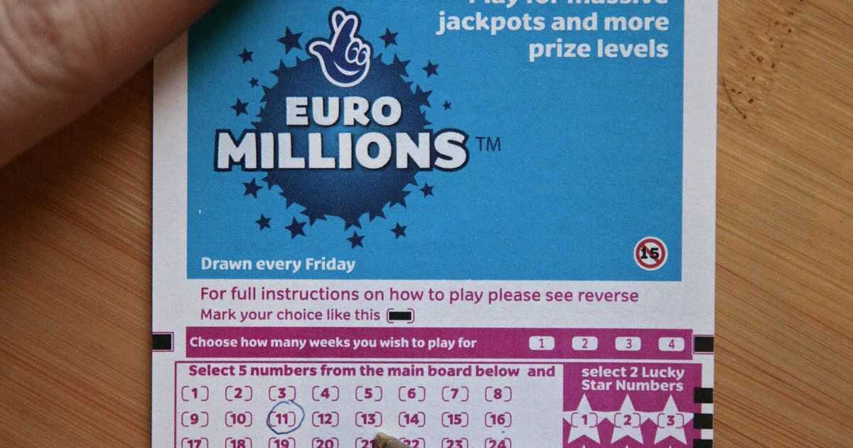 Euromillions results for 30th september 2016