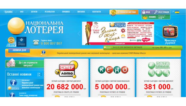 Золотой кубок ? — национальная государственная лотерея